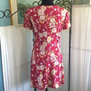 Aeropostale Dresses - Aeropostale Floral Wrap Dress